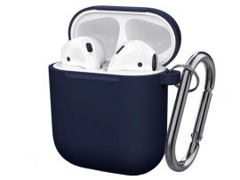 Case Soft touch AirPods (08) midnight blue
