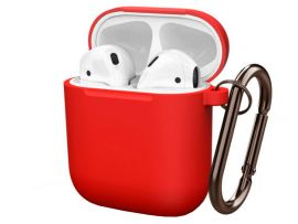 Case Soft touch AirPods (14) red