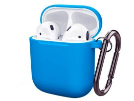 Case Soft touch AirPods (03) tahoe blue