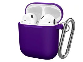 Case Soft touch AirPods (30) ultra violet