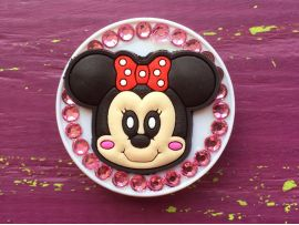 PopSocket Diamonds Minnie Pink