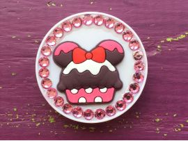 PopSocket Diamonds Minnie Cake