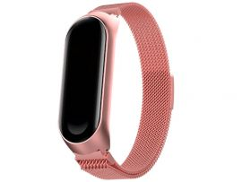 Metal Milanese Mi Band 4/3 Rose