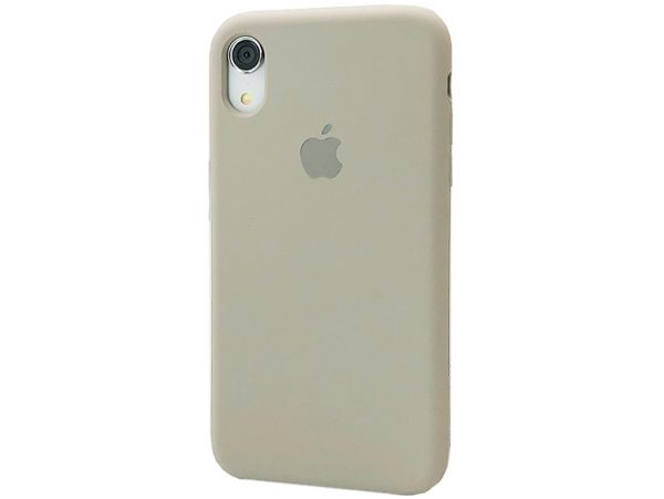 Чехол Case soft touch iP Xr (23) stone