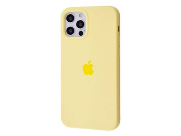 Case soft touch низ iP 12 Pro Max (51) melon yellow
