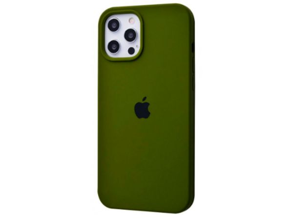 Case soft touch iP 12 Pro Max (48) olive