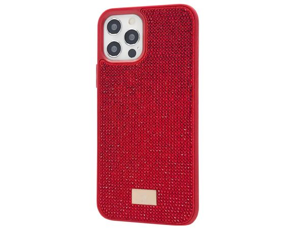 Накладка Bling World iPhone 12 Pro Max Red