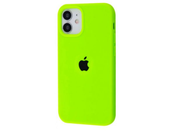 Case soft touch низ iP 12 mini (60) party green