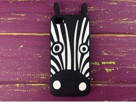 3D Zebra iPhone 5