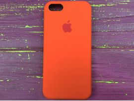 Case soft touch iP5 (02) orange