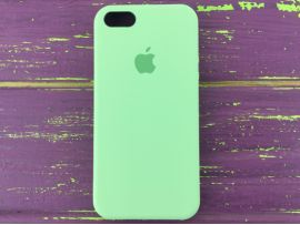 Case soft touch iP5 (01) green