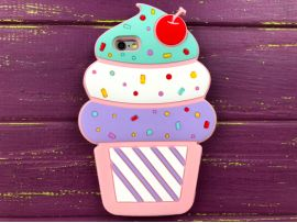 3D Cake iPhone 6 Light pink