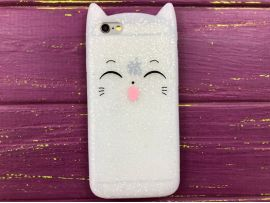 3D Sweet Cat iPhone 6 White