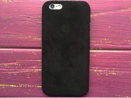 Alcantara Cover iPhone 6/6S Black