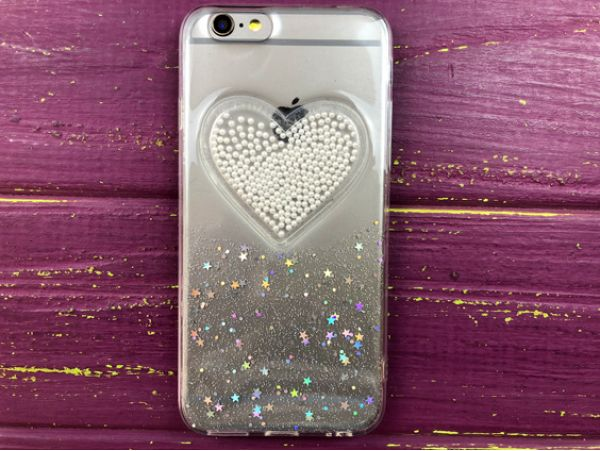 Confetti Heart iPhone 6/6s White