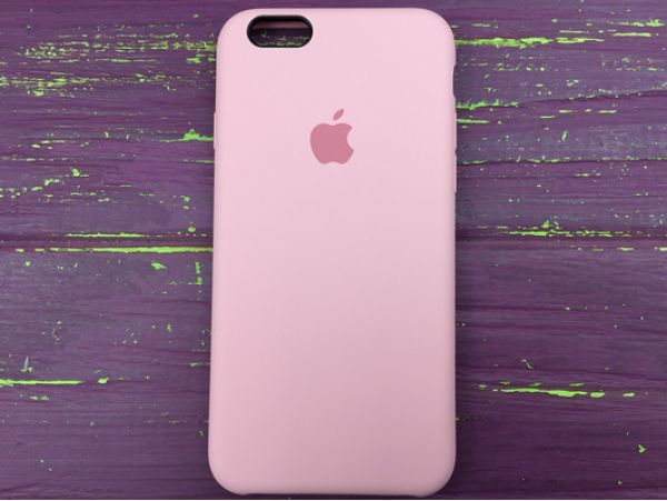 Case soft touch pink iP6