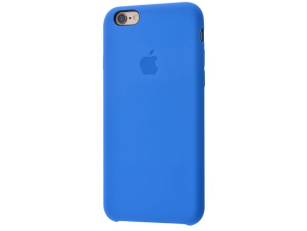 Case soft touch iP6 blue