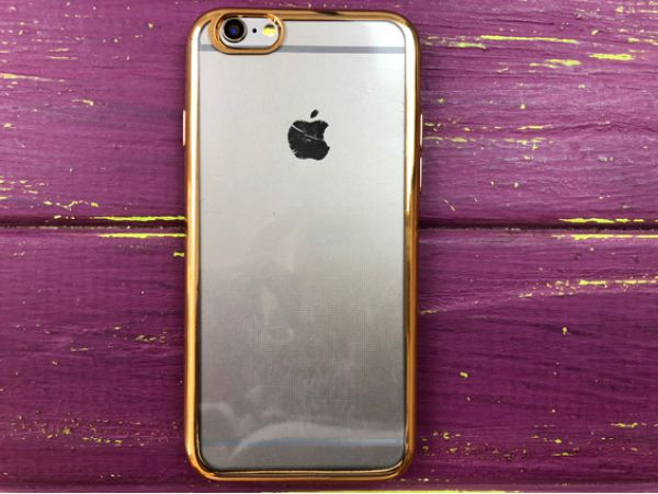Electroplating gold iPhone 6
