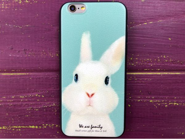 Силикон HOCO iPhone 6/6S Rabbit