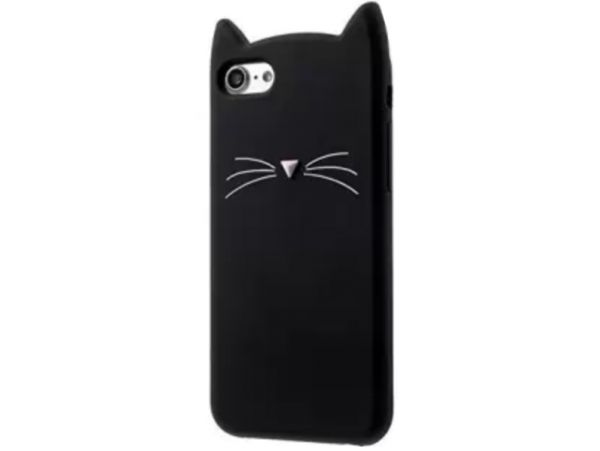 3D CAT'S iPhone 7/8/SE 2 Black