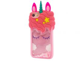 3D Sleep Unicorn Аква iPhone 6/7/8/SE 2 Pink