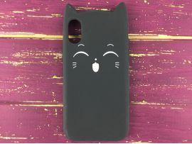 3D Sweet Cat iPhone X/Xs Black