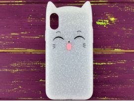 3D Sweet Cat iPhone X/Xs White