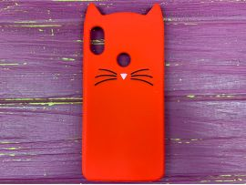 3D CAT'S Huawei Honor Play Red