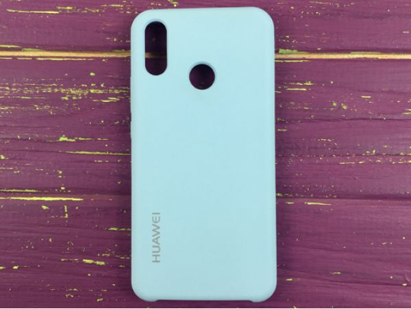 Чехол Copy Original Huawei P Smart+ lilac cream