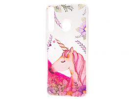 Аквариум Huawei P30 Lite Flowers Unicorn