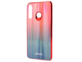 TPU+Glass Gradient Disk Huawei P30 Lite Red