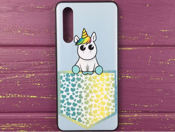 Накладка Pocket Animal Huawei P30 unicorn