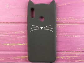 3D CAT'S Huawei P Smart(19) Black