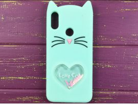 3D CAT'S Love Huawei P Smart(19) Mint