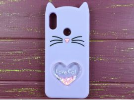 3D CAT'S Love Huawei P Smart(19) Purple