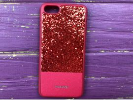 Case Leather+Shining Huawei Y5(18) Red