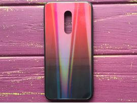 TPU+Glass Gradient Disk Meizu 16 Red