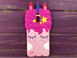 3D Slim Unicorn Sleep Nokia 2 Pink