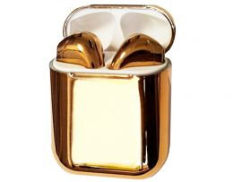 Air Pods JY-01 glossy Gold