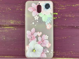Силикон Nokia 3.1 Spring bloom