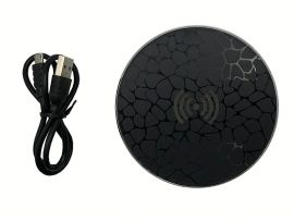 Wireless Charger Circle A1 Sun Flower 5W Black