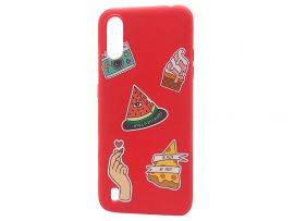 WAVE Fancy Samsung A01 color style watermelon/red