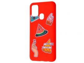 WAVE Fancy Samsung A21s color style watermelon/red