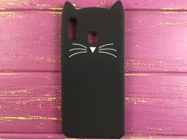 3D CAT'S Samsung A20/A30 Black