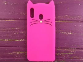 3D CAT'S Samsung A20/A30 Hot Pink