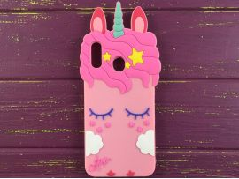 3D Slim Unicorn Sleep SamsA20/A30 Pink