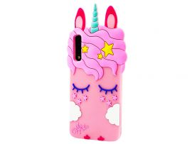 3D Sleep Unicorn Samsung A50/A50s/A30s Light Pink