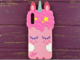 3D Slim Unicorn Sleep Samsung A50 Pink