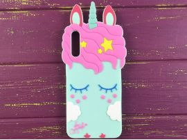 3D Slim Unicorn Sleep Samsung A50 Mint