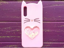 3D CAT'S Love Samsung A50 Pink